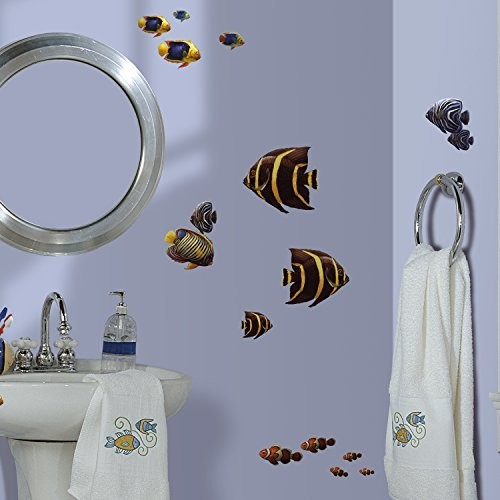 RoomMates RMK1005SCS Under the Sea Peel and Stick Wall Decals [Multi]