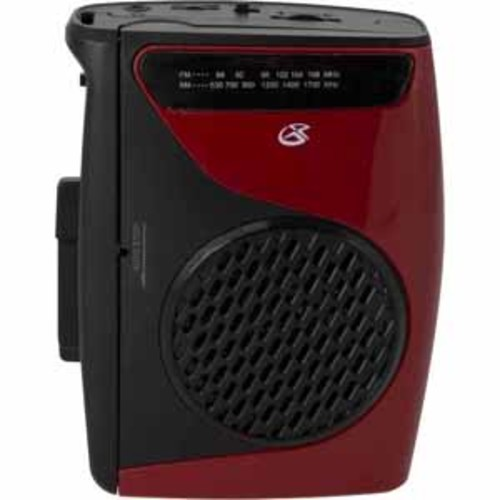 GPX Cassette Player with AM/FM Radio with the Built-in Speaker