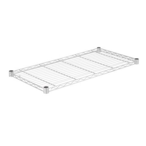 Honey Can Do Steel Wire Shelf with 350lb Capacity, Chrome