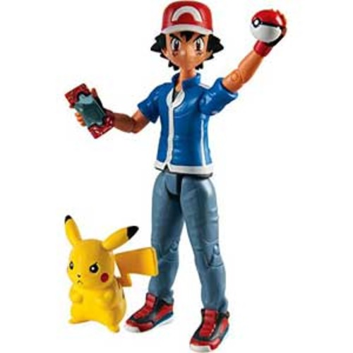 Pokemon Action Figures - Ash And Pikachu