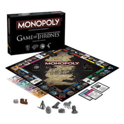 USAopoly Game Of Thrones Monopoly