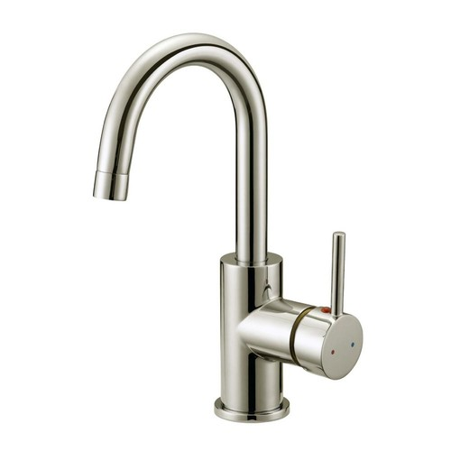 Design House Eastport Single-Handle Bar Faucet in Satin Nickel