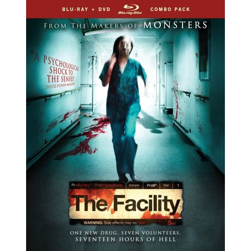The Facility [2 Discs] [Blu-ray/DVD] [2012]