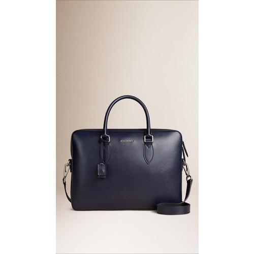 BURBERRY Medium London Leather Briefcase