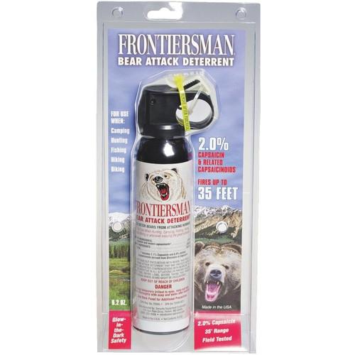 Frontiersman Bear Attack Self-Defense Spray - FBAD-06