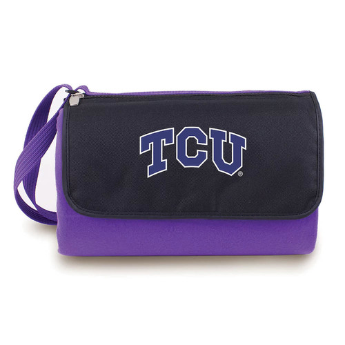 Picnic Time Collegiate Blanket Tote [Texas Christian Horned Frogs]
