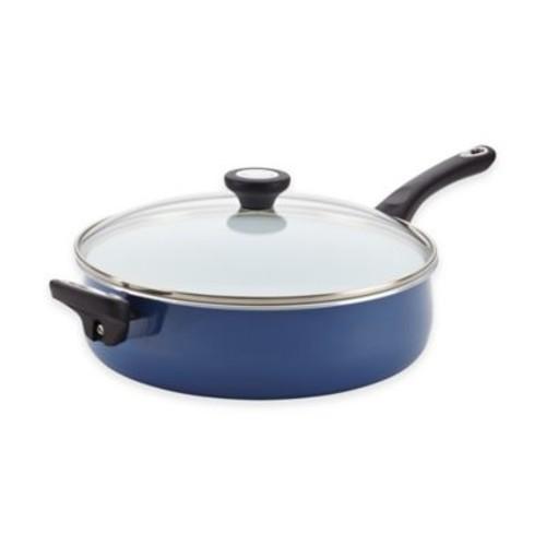 Farberware PURECOOK Ceramic Nonstick 5 qt. Jumbo Covered Cooker with Helper Handle