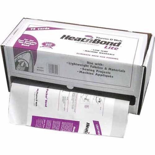 Heat N' Bond Lite Iron-On Adhesive, 17