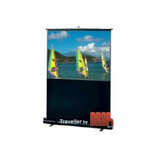 Draper 230103 60 inch Traveler Portable-Screen Diag 4:3 Matt White