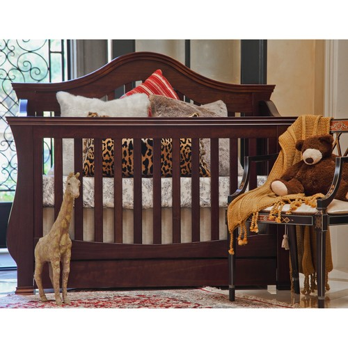 Million Dollar Baby 'Ashbury' Deep Espresso 4-in-1 Convertible Crib with Toddler Rail