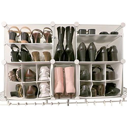 Modular Shoe Organizer [White]