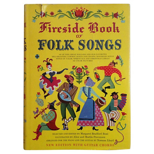 Fireside Book of Folk Songs with Guitar