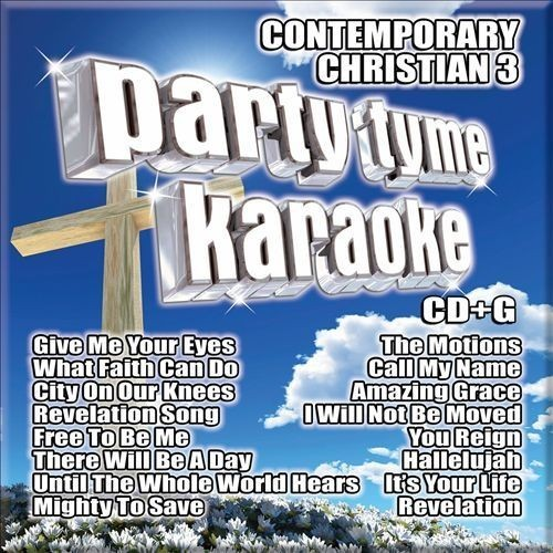 Party Tyme Karaoke: Contemporary Christian, Vol. 3 [CD + G]
