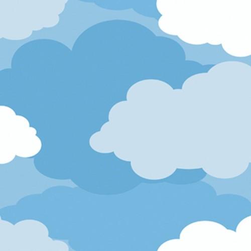 York Wallcoverings Peek-A-Boo Cloud Wallpaper
