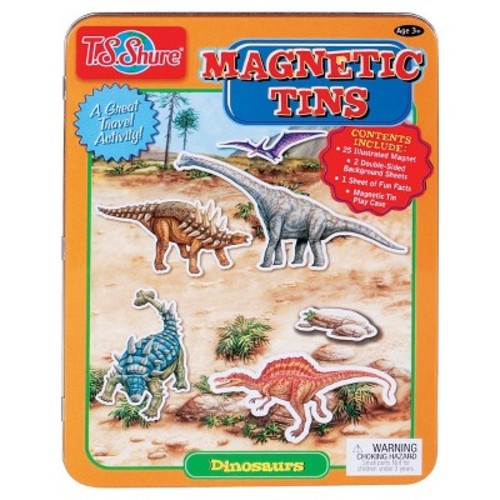T.S. Shure - Dinosaurs Magnetic Tin Playset