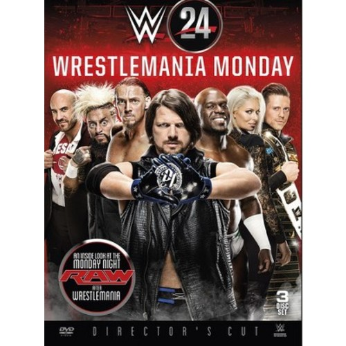 Wwe:Wrestlemania Monday Is Raw (DVD)