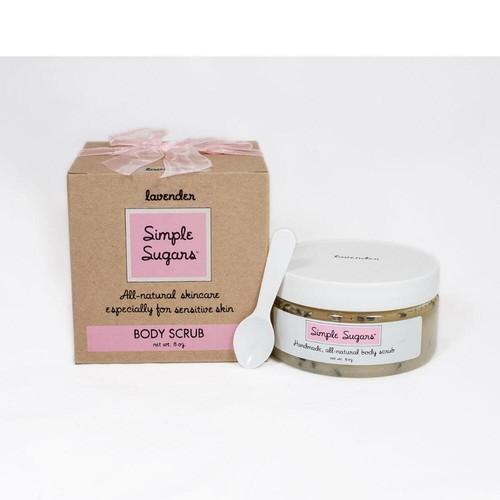 Simple Sugars Lavender Body Scrub