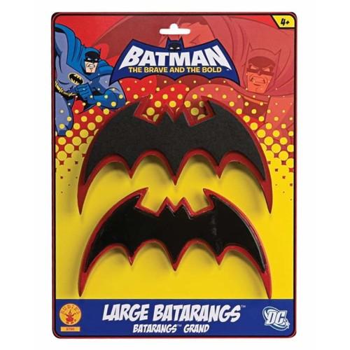 Batman Brave & Bold Batarang [Red/Black, One Size]