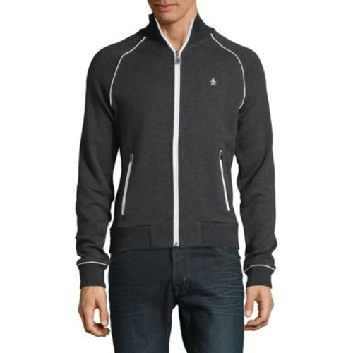 Contrast Zip-Front Jacket