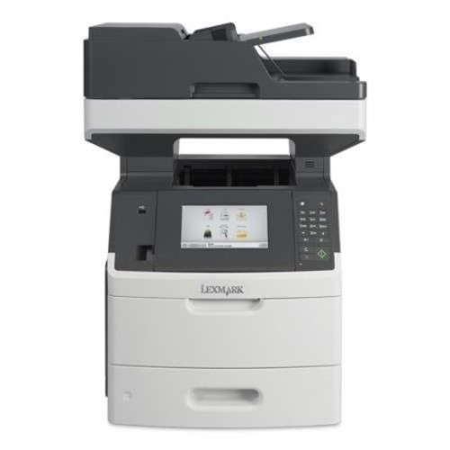 Lexmark MX710dhe 24T7310 MultiFunction Printer - Monochrome Laser, 1200 x 1200 dpi, 63 ppm, Duplex Printing, Dual-Core 8