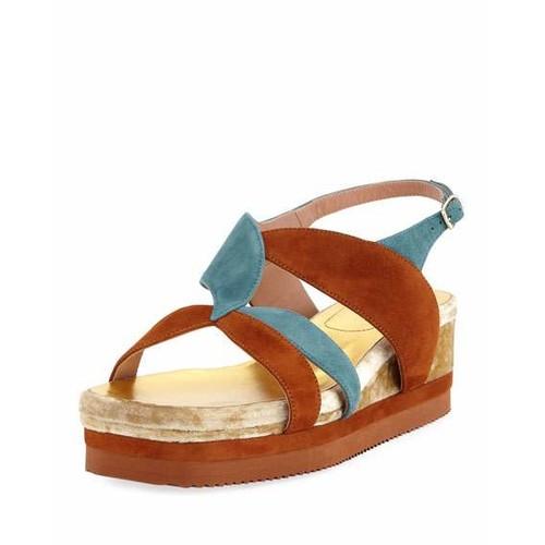 Flatform Wedge Platform Sandal