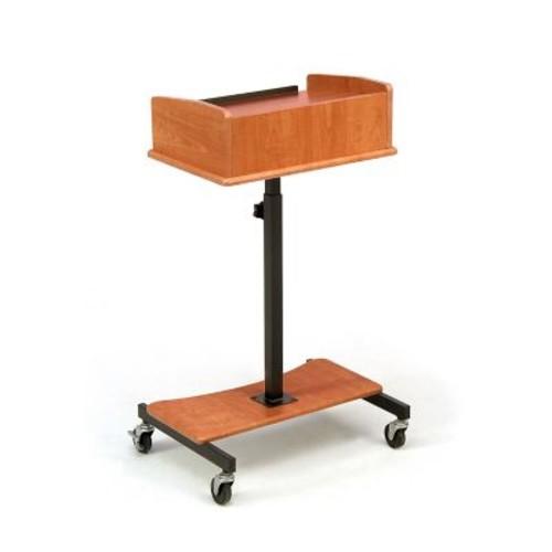 Oklahoma Sound Portable Laptop Speaker Stand, Cherry