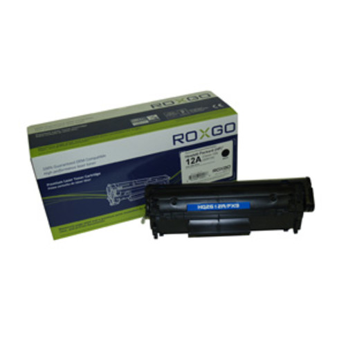 Roxgo for HP Q2612A Laser Toner Ink Cartridge - Black