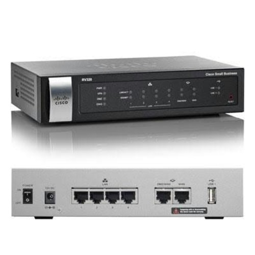 Cisco Rv320 Dualwan VPN Router
