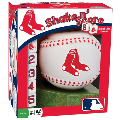 Boston Red Sox Shake 'n' Score Travel Dice Game