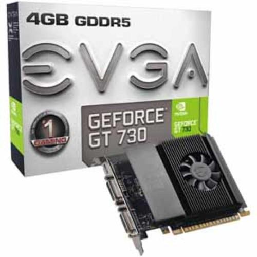 EVGA GeForce GT 730 4GB 64-Bit GDDR5 Graphics Card