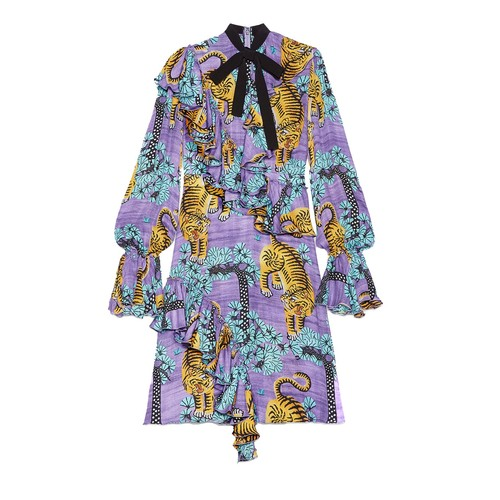 GUCCI Bengal Georgette Dress