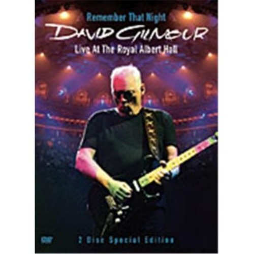 Alfred David Gilmour- Remember That Night- Live at Royal Albert Hall - Music Book( ALFRD40418)