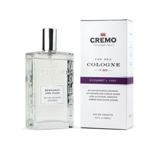 Cremo Spray Cologne Bergamot & Musk - 3.4oz