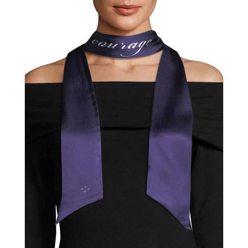 Courage & Wonder Skinny Silk Scarf
