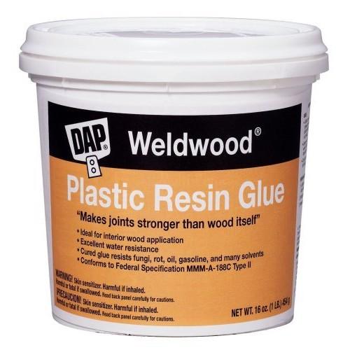 Dap 00203 Weldwood Plastic Resin Glue, 1-Pound [1]