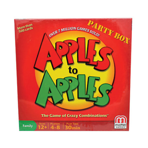 Mattel Apples To Apples Party Box, Ages 12-14