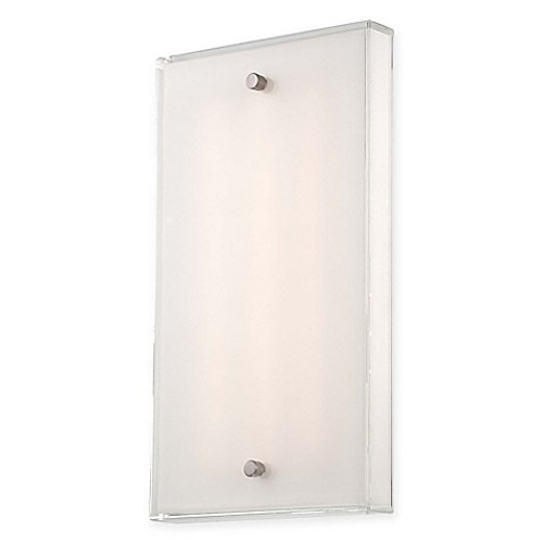 George Kovacs Framework LED Wall Sconce with Brushed Nickel Finish