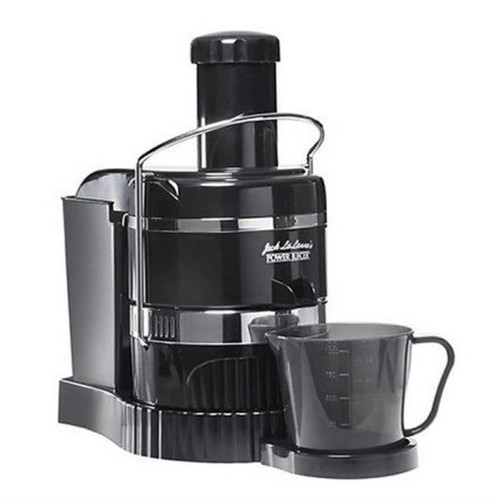 Jack LaLanne MT-1000-1-RB Refurbished JUICER 3600 RPM BLACK AND STAINLESS STEEL-MT10001