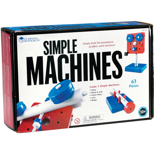 Learning Resources Simple Machines, Set of 5 [1]