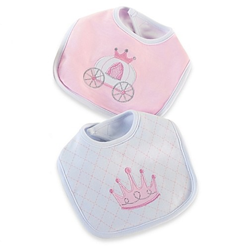 Baby Aspen 2-Pack Little Princess Bib