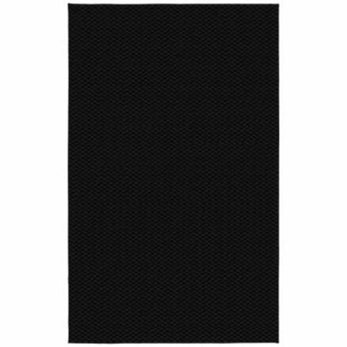 Garland Rug Medallion Black 9 ft. x 12 ft. Area Rug