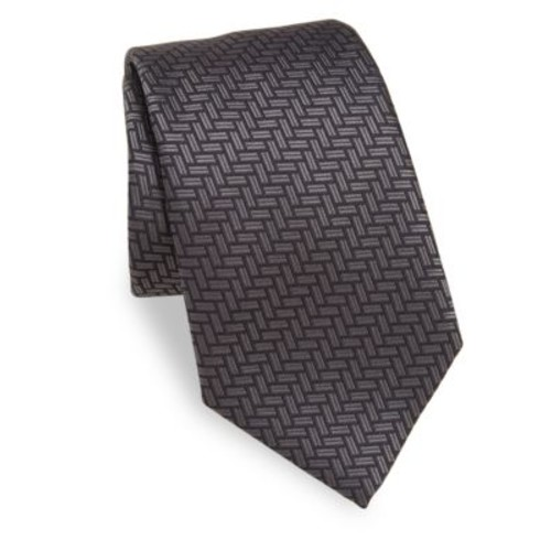 Basket Weave Silk Tie