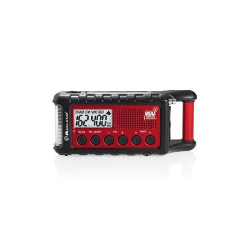 Midland Er310 Emergency Crank Radio W/ Am/Fm/Weather Alert