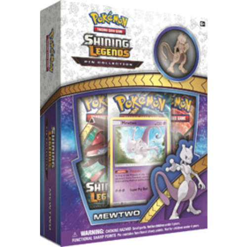 Pokemon Trading Card Game: Shining Legends Pin Collection - Mewtwo