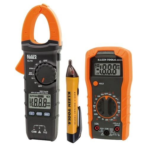 Klein Tools 3-Piece Meter and Test Kit