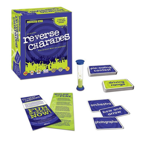 Reverse Charades Party Game - multi