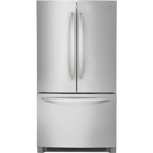 Kenmore 70423 22.3 cu. ft. Counter-Depth French Door Refrigerator - Stainless Steel