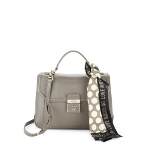 Love Moschino - Saffiano Leather Satchel