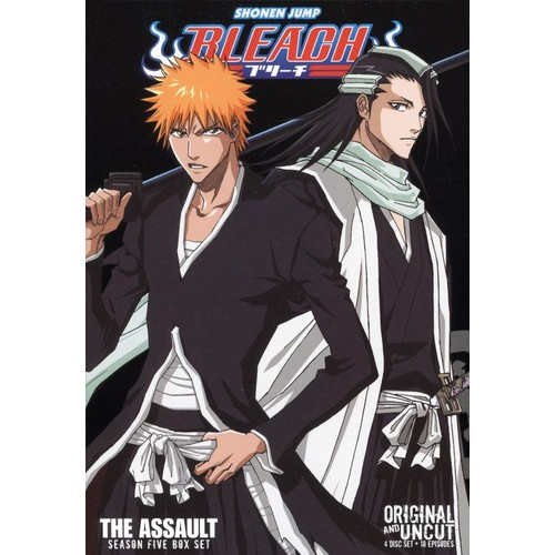 Bleach Uncut Box Set: Season 5 - The Assault [4 Discs] [DVD]