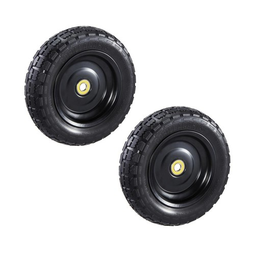 Gorilla Carts 10 in. No Flat Replacement Tire for Gorilla Carts (2-Pack)